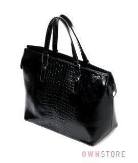 d4ffd13beaf4 Купить онлайн в интернет-магазине сумку женскую из кожзама с крокодиловой  отделкой - арт.