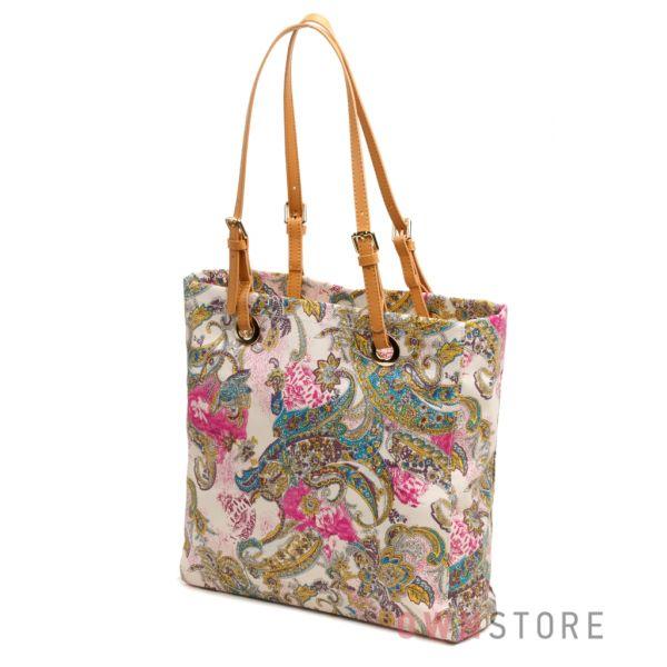 Женские кожаные сумки разноцветные Разноцветная сумка