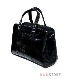 5040e065833a Купить сумку женскую из кожзама с эмблемой от Velina Fabbiano - арт.37555-1