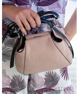 Купить онлайн миниатюрную пудровую женскую сумочку - арт.068