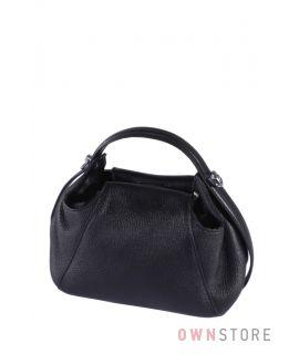 Купить онлайн миниатюрную черную женскую сумочку - арт.068