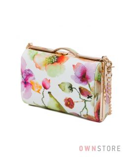Купить сумку - клатч женскую из кожзама цветную от Rose Heart - арт.8653