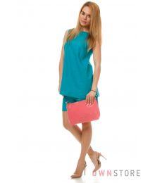 Миниатюрная сумка хобо из розового лака(арт.62191)