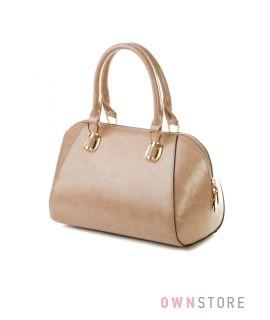 Купить сумку-саквояж женскую из кожзаменителя недорого - арт.62618