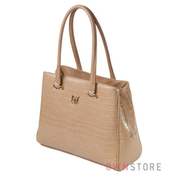 Купить женскую сумку из кожзама Farfalla Rosso на три отделения - арт.70029