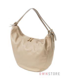 Купить большую кожаную женскую сумку Meglio - арт.792370