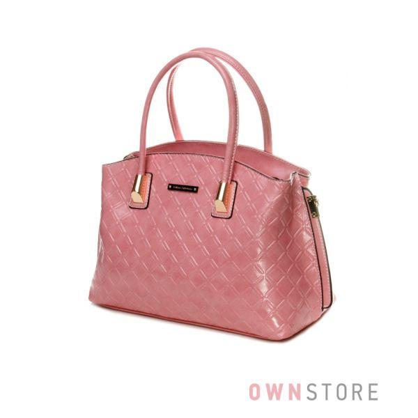 Купить розовую женскую сумку от Velina Fabiano - арт.59807-3