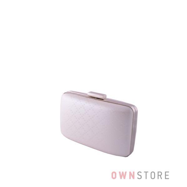 Купить клатч женский белый с геометрическим рисунком от Rose Heart - арт.09900