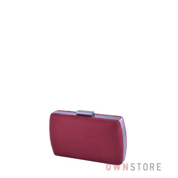 Купить онлайн клатч женский бордовый из замши от Rose Heart - арт.283
