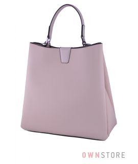 Купить сумку женскую из натуральной кожи бежевую онлайн - арт.3005