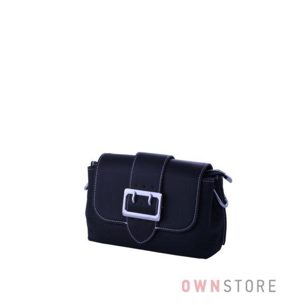 Купить сумочку женскую кожаную черного цвета онлайн - арт.521