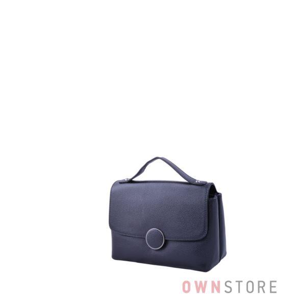 Купить онлайн женскую сумку - барсетку из черной кожи - арт.8247