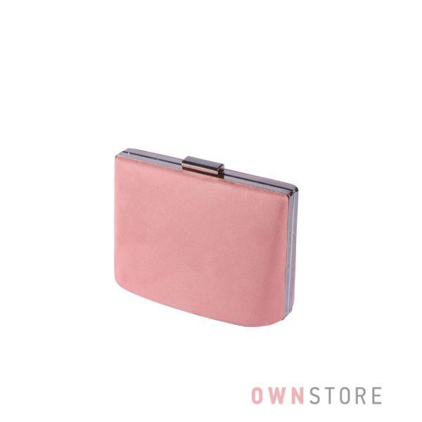 Купить онлайн сумочка - клатч женская фрезовая замшевая  - арт.6616