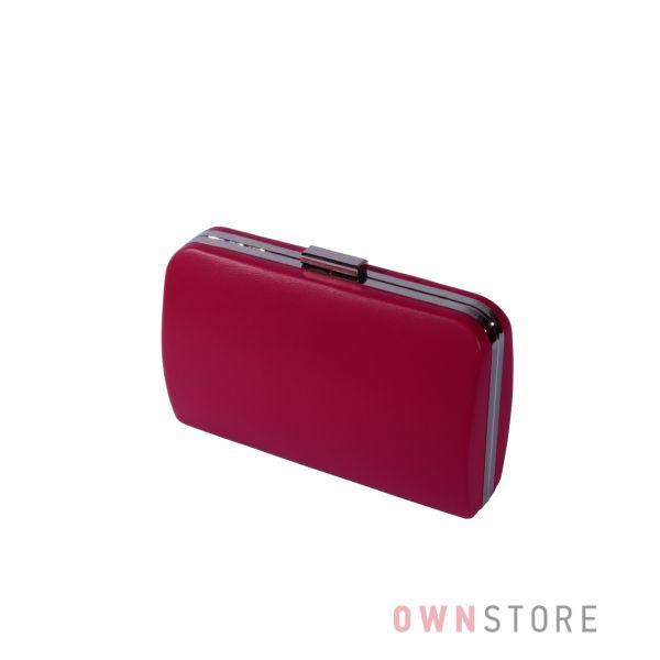 Купить онлайн большой женский ягодный клатч из кожзама - арт.7679