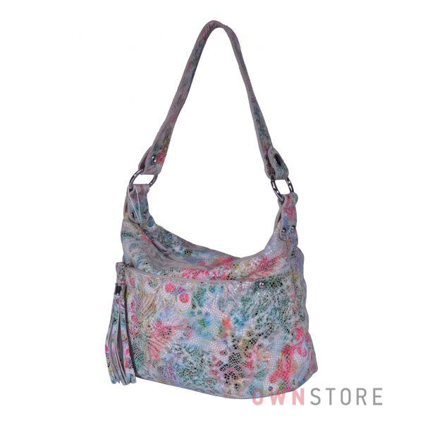 Купить онлайн небольшую женскую сумочку из разноцветного лазера - арт.8117