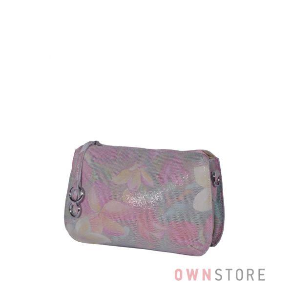 Купить онлайн небольшую разноцветную сумочку из лазера  - арт.8288