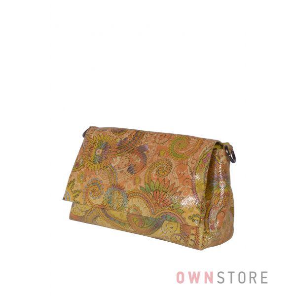 Купить онлайн сумку женскую разноцветную из лазера от Farfalla Rosso - арт.856